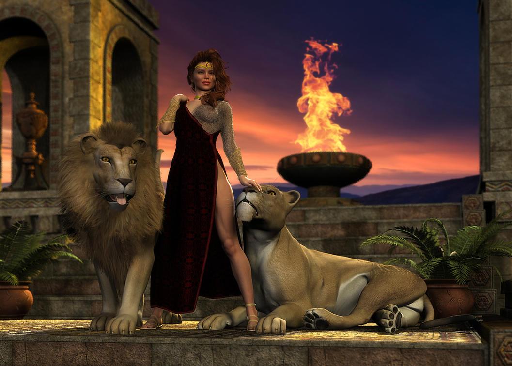 Lion Queen by richmel1