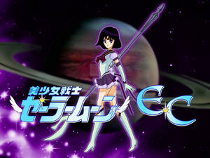 Eternal Sailor Saturn Pose