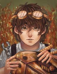 Leo - Heroes of Olympus by Kouri-n