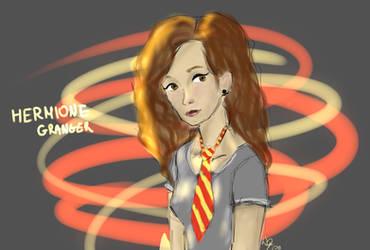 Hermione Granger sketch by Ruda9