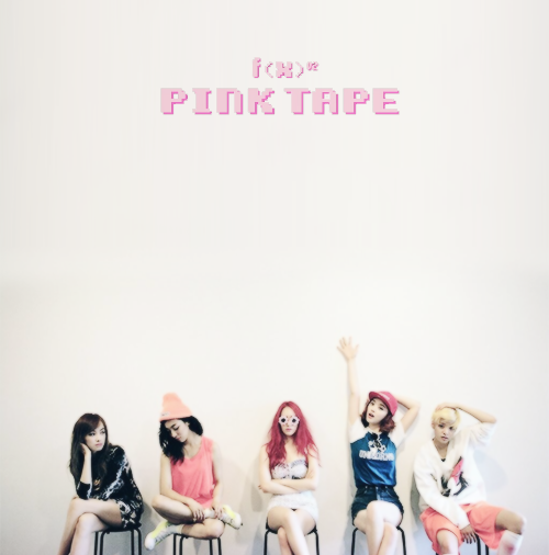 Pink Tape [CD Cover] by kaaypop on DeviantArt F(x) Electric Shock Album Cover