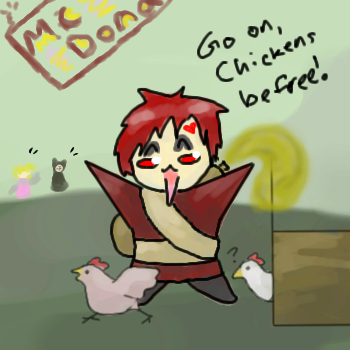 Gaara: Closet Animal Rights... by Mystchiae