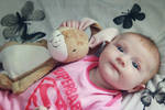 Freya and Mr BunBun 03