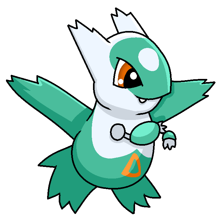 Shiny Quilava Chibi shiny latios by shadow-