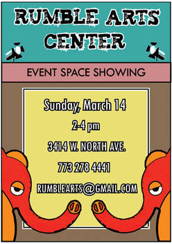 Rumble arts event space flyer2