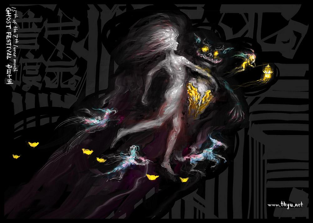 Ghost Festival by puppetbear