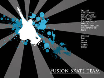 Fusion Skate team by plus44maniac