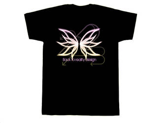Butterfly T-shirt by plus44maniac