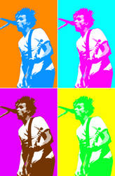 Mark Hoppus - Andy Warhole by plus44maniac