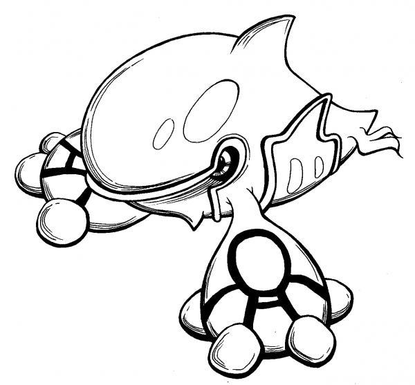 Free Pokemon Groudon Coloring Pages, Download Free Clip Art, Free ... | 557x600