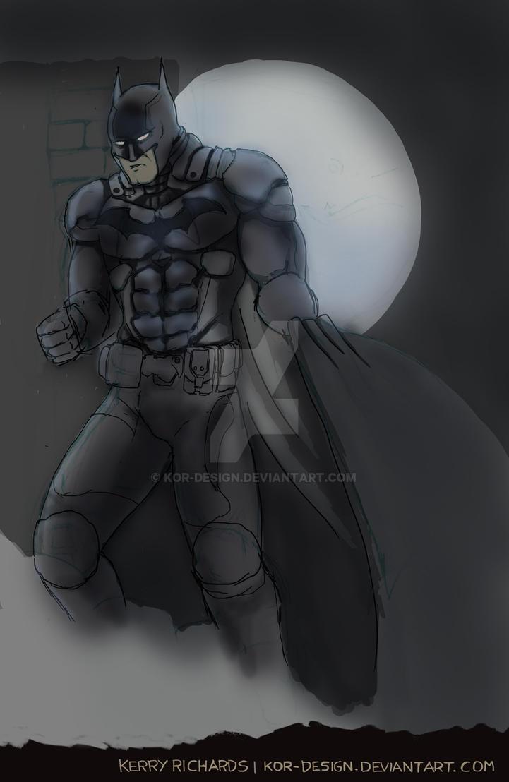 Batman Arkham Knight - Base colours by KOR-Design