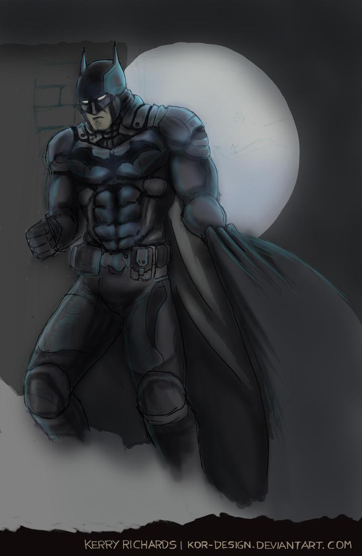 Arkham Knight Batman WIP by KOR-Design