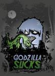 Godzilla Sucks Vector Vers. by goodmorningnight