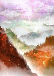 Psychedelic Landscape