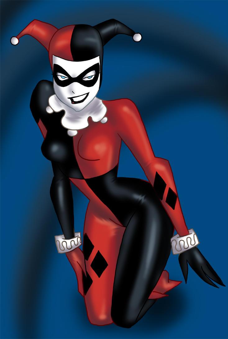 Harley Quinn by Oboe
