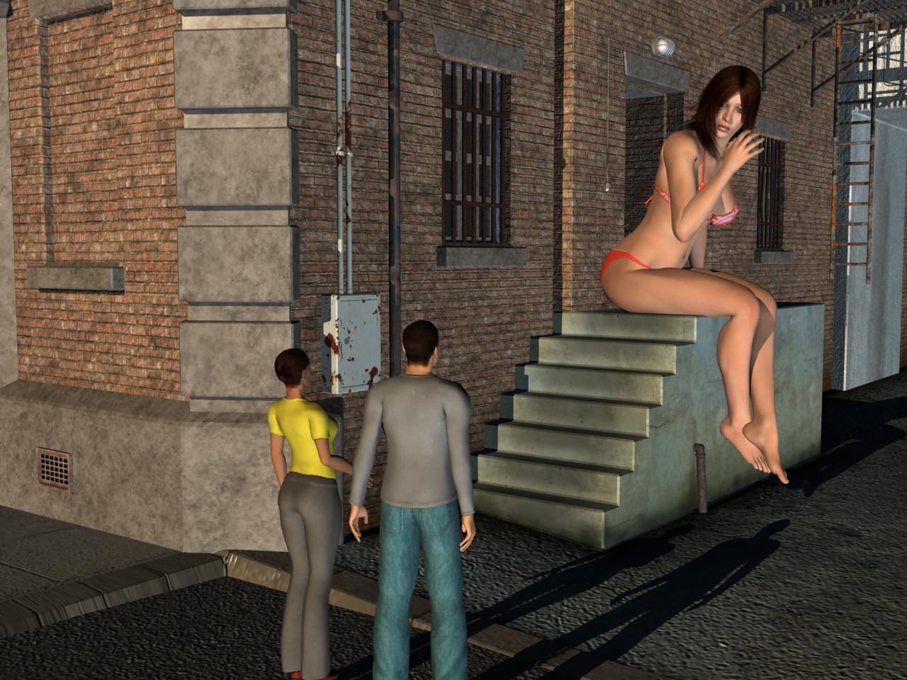 3d giant uses tiny woman hentay movie