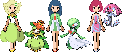 3 more introsprites by MaikeSapphire