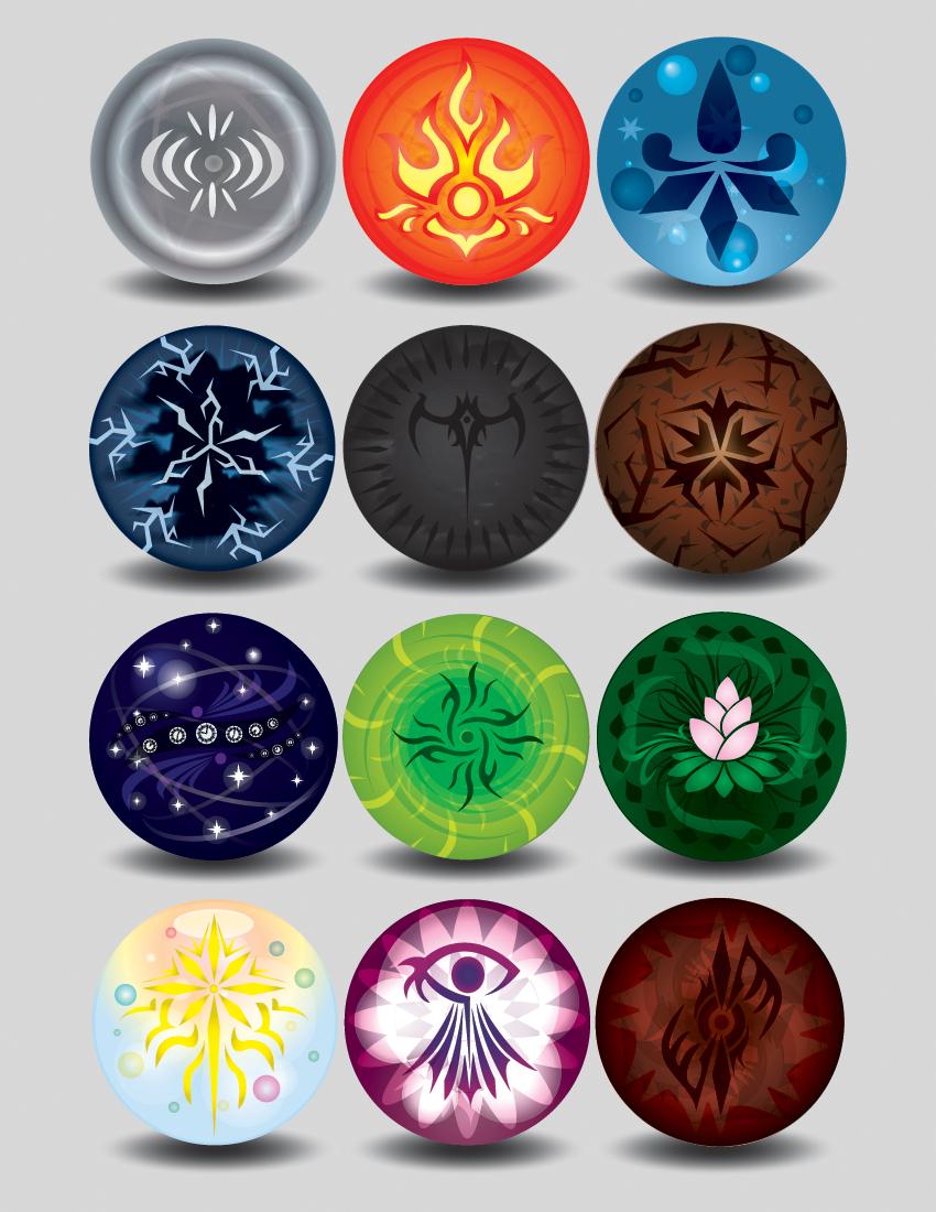 Elemental Orbs by LucienVox