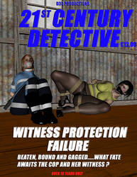 21st Century Detective Mag Cover by D3D-PerilArt