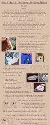 G4 MLP Anatomy Notes - Nose by Pix3M