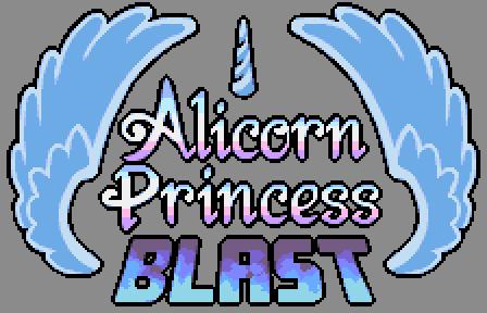 [Alicorn Blast] Game logo by Pix3M