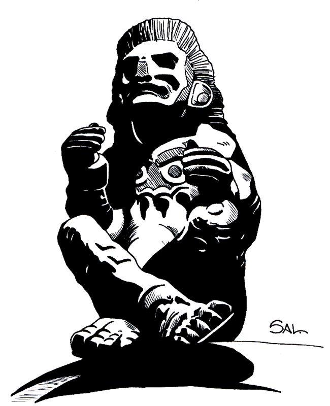 Aztec God Xochipili by...
