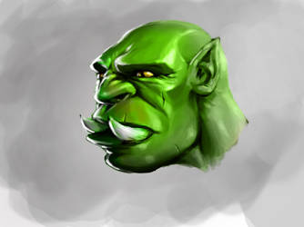 Orc Face3 Copy by Crampside