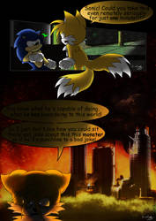 Sonic Legends: A hero's humble beginnings page #3 by TheMagyar