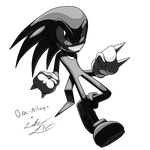 Knuckles- Sonic Kingdom Art Collaboration by TheMagyar