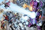 Galactus vs. Marvel's Heroes