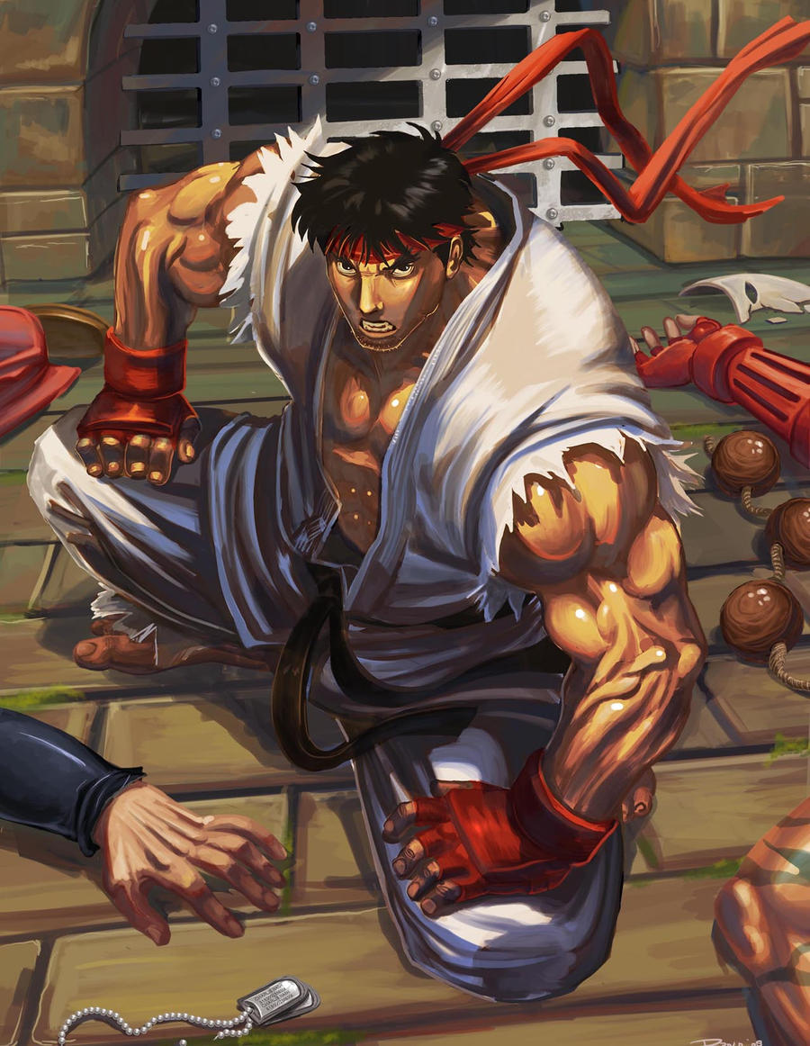 Ryu contest ilustration by Brolo