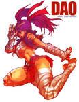 Dao: muai thai girl