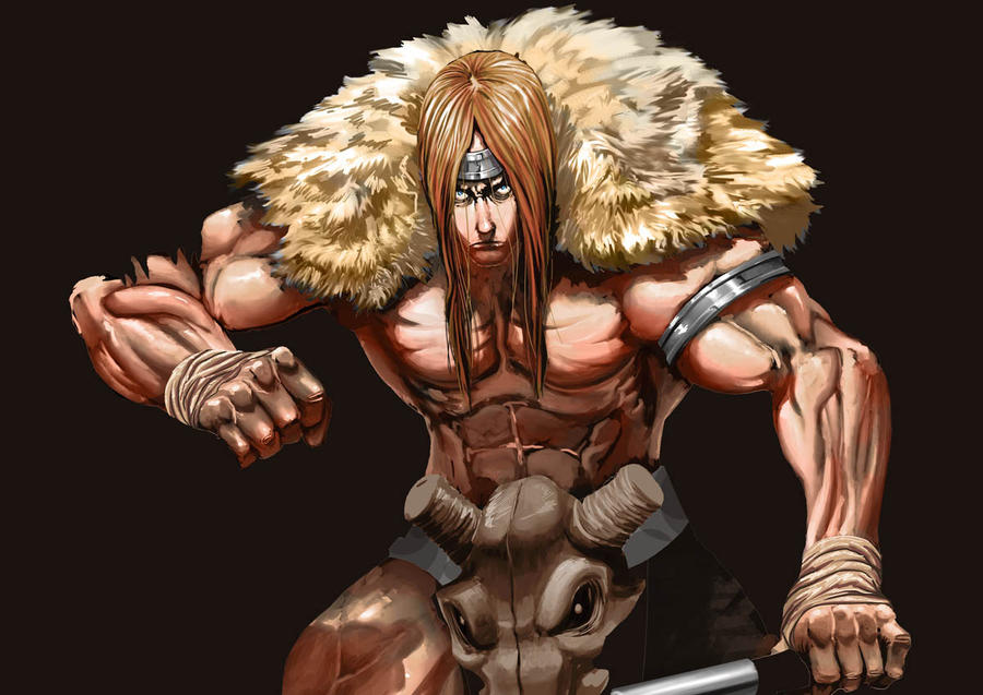 traveler barbarian colour Wip by Brolo