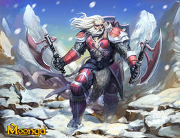 Ice Itlan Warrior by Brolo