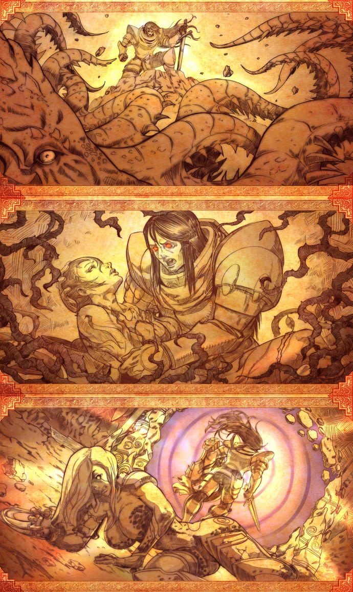 Soul avenger History mode by Brolo