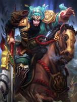 SMITE Guan Yu by Brolo