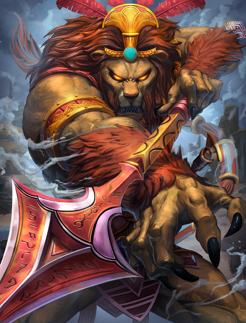 SMITE ANHUR by Brolo