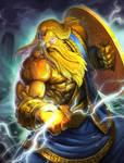 SMITE Golden Zeus