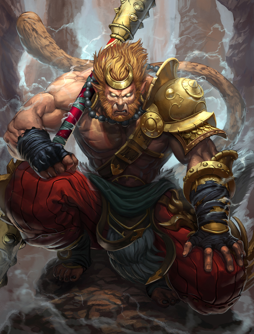 Smite Sun Wukong by Brolo