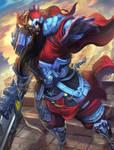 SMITE Guan Yu alternative skin