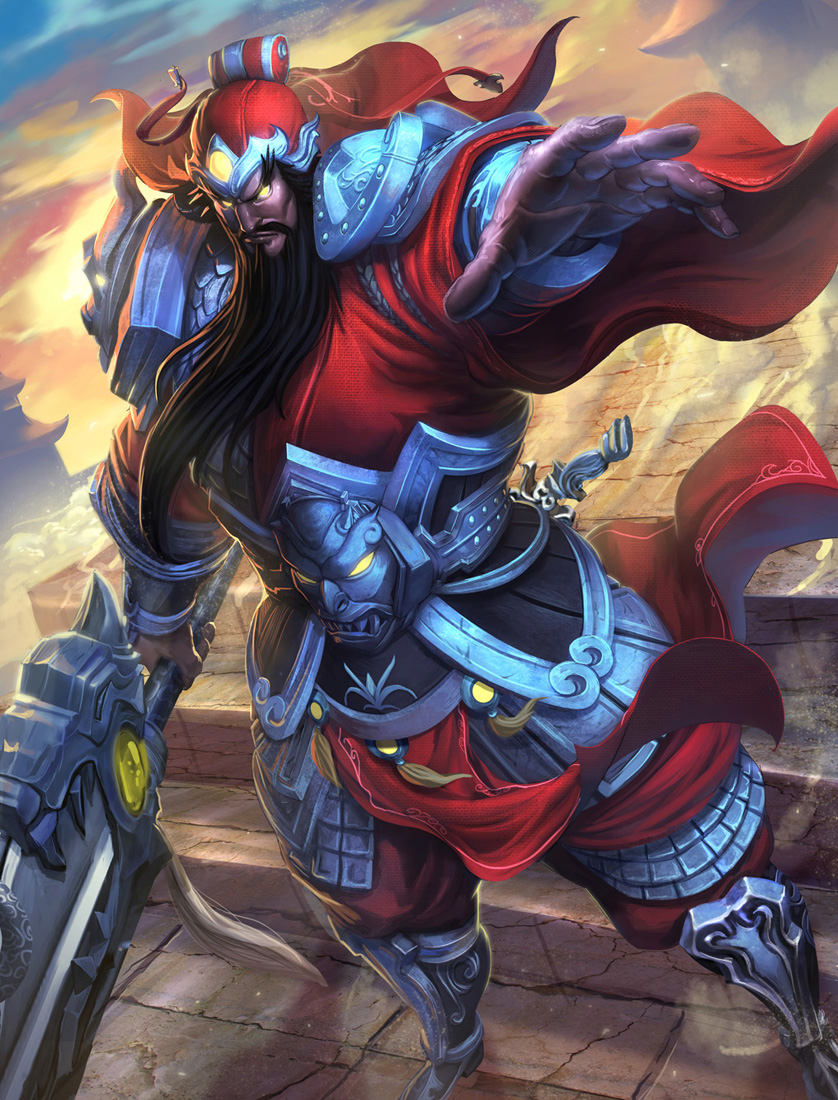 SMITE Guan Yu alternative skin by Brolo