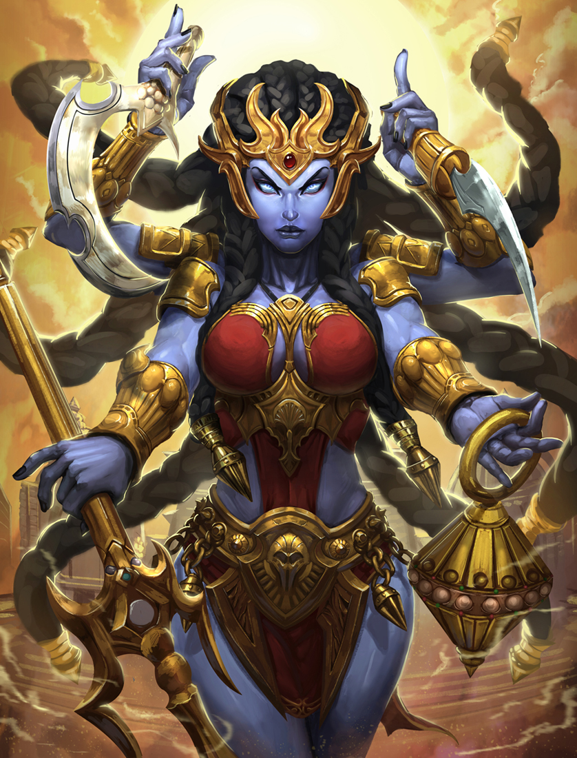 SMITE Kali re do by Brolo