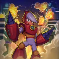 CRASHMAN demolition expert by Brolo