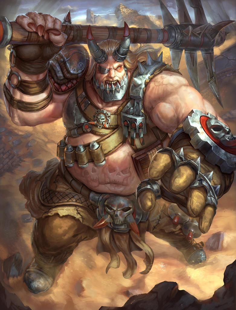 Smite  Warlord Kumbhakarna by Brolo