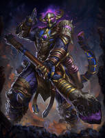 Abyssal Warrior Wukong Smite by Brolo