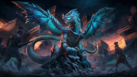 Kukulkan Ice Dragon - Smite