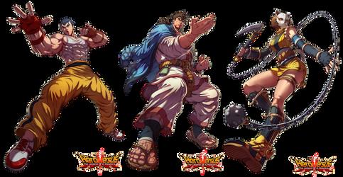 Hero Versus Character by Brolo