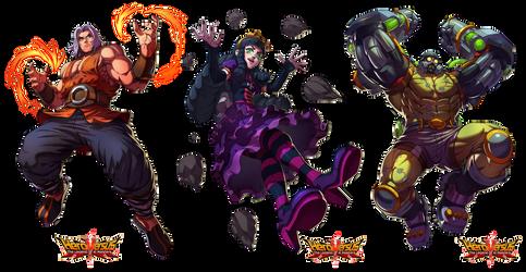 Hero Versus character 2 by Brolo