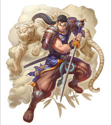 Mitsurugi character card  color
