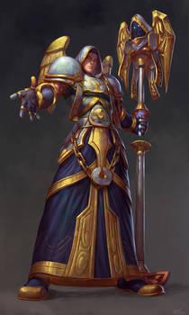 Blood Elf Priest Commission